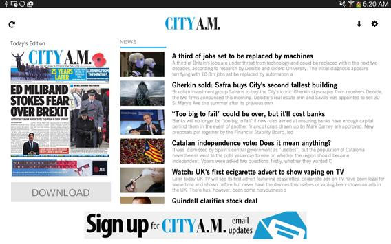 City AM apk screenshot