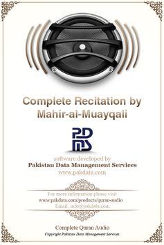 Quran Audio Mahir Al Muayqali poster
