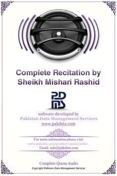 Quran Audio - Mishary Rashid poster