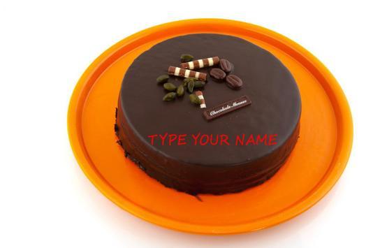 NAME ON BIRTHAY CAKE apk screenshot