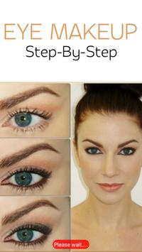Eye Makeup-Step By step poster
