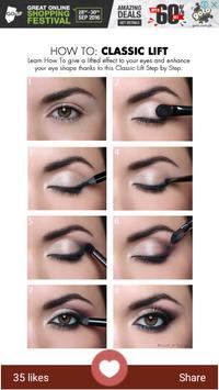 Eye Makeup-Step By step apk screenshot