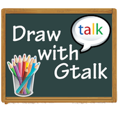 Draw with Gtalk Messenger FREE icon