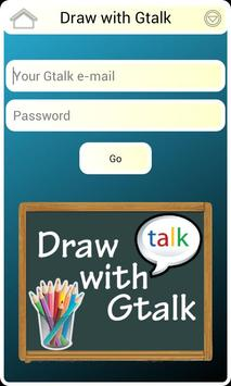 Draw with Gtalk Messenger FREE poster