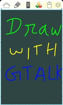 Draw with Gtalk Messenger FREE apk screenshot