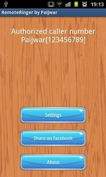 Remote Ringer (FREE) - Paijwar poster