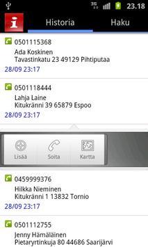 CallerInfo apk screenshot