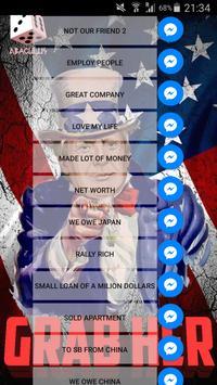 Donald Trump Share Soundboard apk screenshot