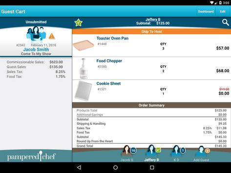 pamperedchef apk screenshot