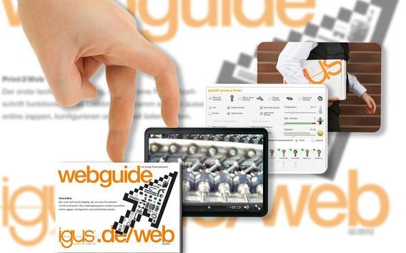 igus® WebGuide poster