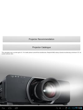 Projector Selector apk screenshot