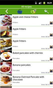 Pancakes, fritters apk screenshot
