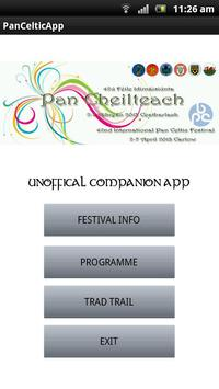 Pan Celtic 2013 Unofficial poster