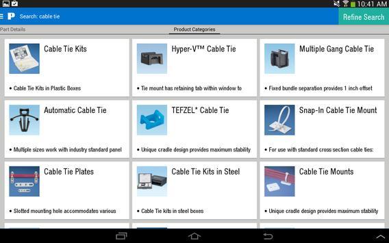 Panduit Select apk screenshot