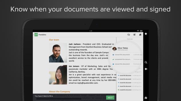 PandaDoc: Sign Any Doc Online apk screenshot