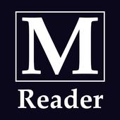 M Reader - comic view icon