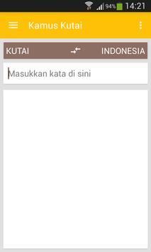 Kamus Bahasa Kutai poster