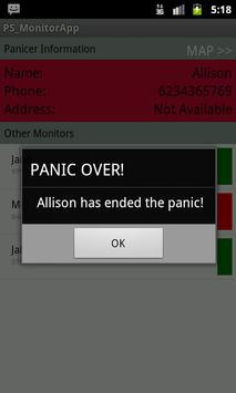 PanicSpider_Monitor apk screenshot
