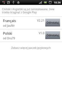 Easy SMS Polish Language poster