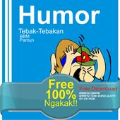 Humor BBM & TebakTebakkan icon