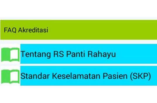 Buku Saku Akreditasi RSPR apk screenshot