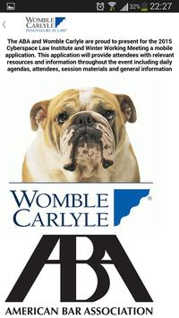 Womble Carlyle Digital Law poster