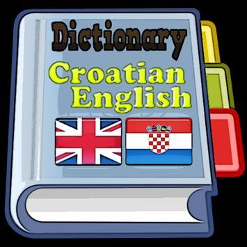 Croatian English Dictionary poster