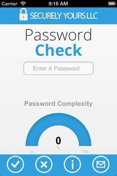 Password Check poster