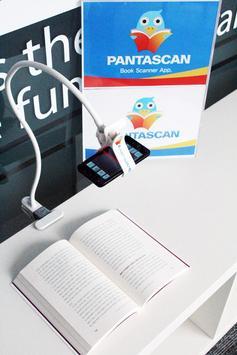 PantaSCAN 10mins Book Scanner poster