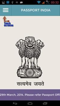 Passport India Passport Seva poster