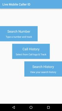 Live Mobile Caller-ID Tracker apk screenshot