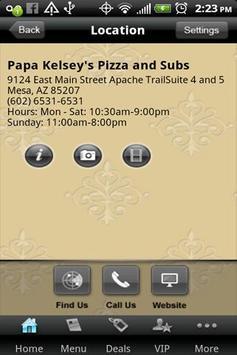 Papa Kelsey's Pizza & Subs apk screenshot