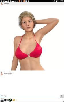 My Virtual Girlfriend Julie apk screenshot
