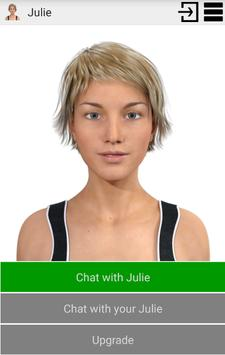 My Virtual Girlfriend Julie poster