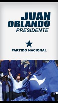 Juan Orlando poster