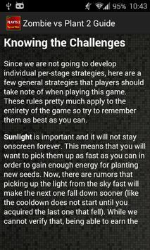 Zombie vs Plant 2 Guide apk screenshot