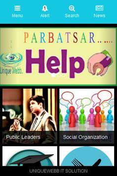 parbatsar help apk screenshot