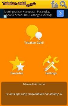 Tebakan Gokil Bingid apk screenshot