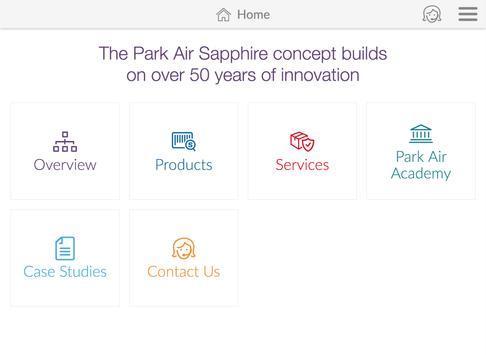 Park Air Sapphire Portfolio apk screenshot