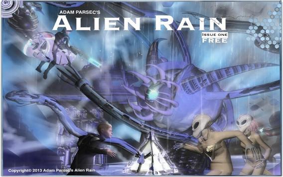Alien Rain poster