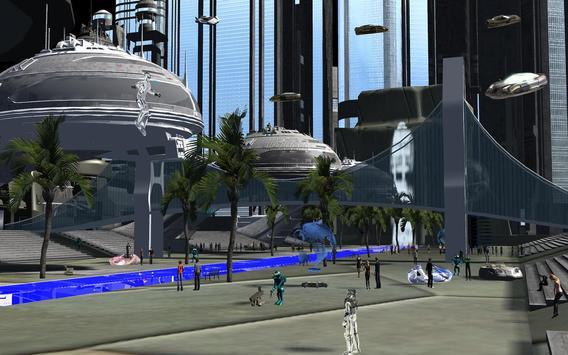 Alien Rain apk screenshot