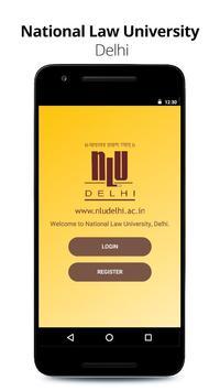 National Law University, Delhi poster