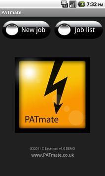 PATmate Demo poster