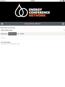 Energy Conference Network apk screenshot