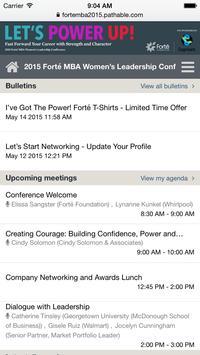 2015 Forté MBA apk screenshot