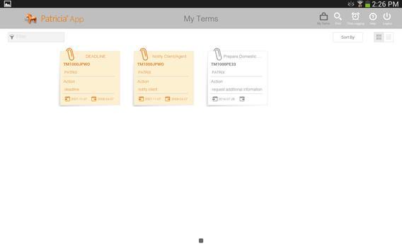 Patricia App apk screenshot