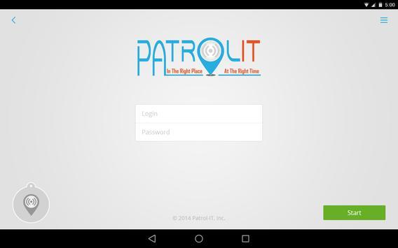 Patrol-IT apk screenshot