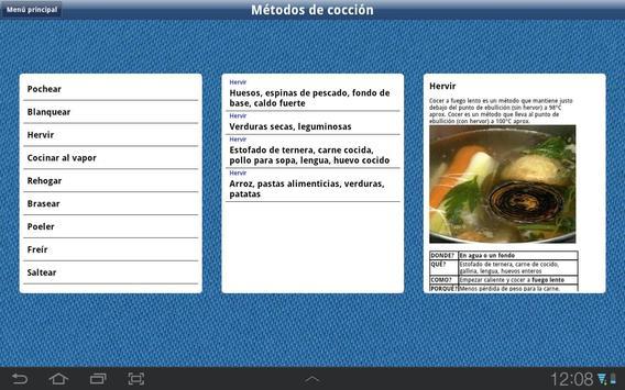 Bases de la cocina, HD Lite apk screenshot