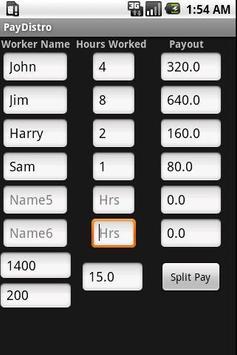 PayDistro apk screenshot