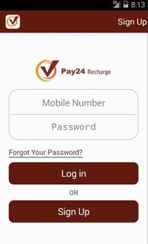 Pay24recharge poster